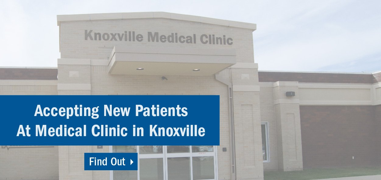 Knoxville is accepting new patients