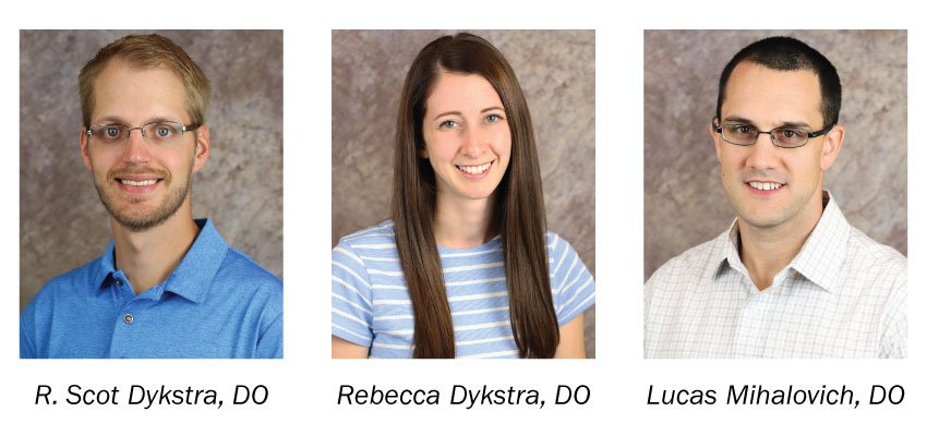 Welcome our 3 new providers to Pella Regional!