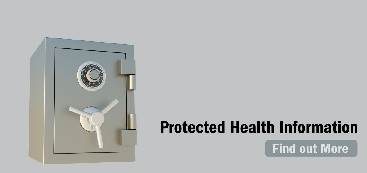 Your health information is protected