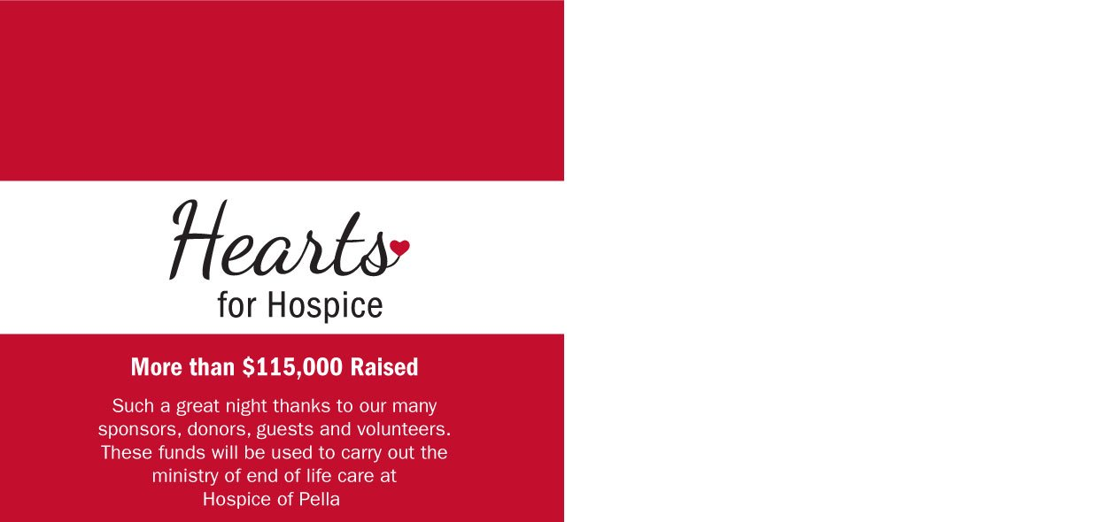 Thank you for supporting Hearts for Hospice