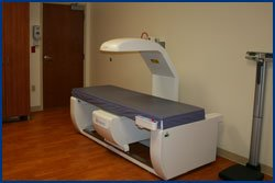 Bone density room at Pella Regional
