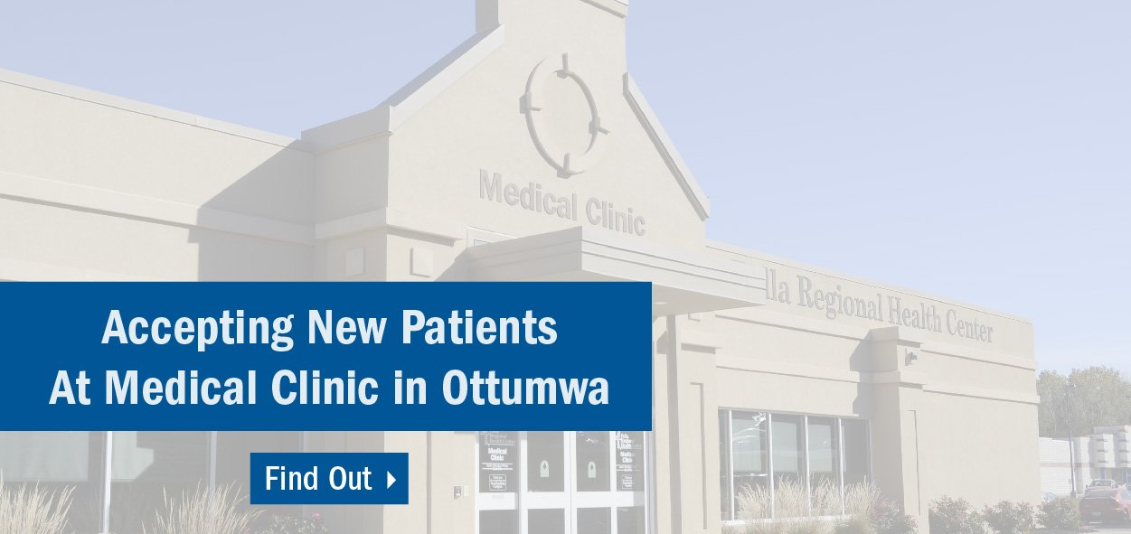 Ottumwa is accepting new patients