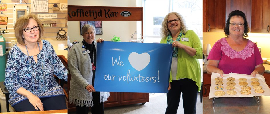We love our volunteers at Pella Regional!