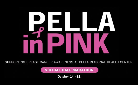 Pella In Pink Virtual Marathon