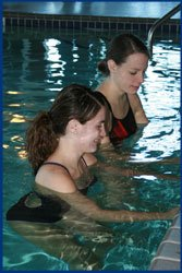 Aquatic therapy at Pella Regional