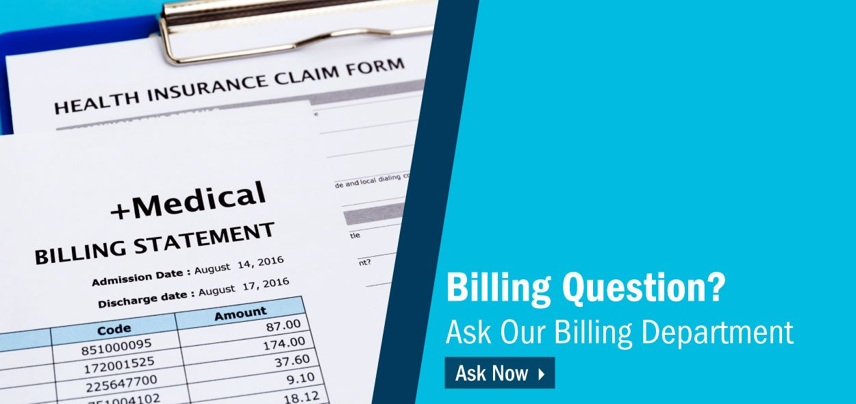Questions about billing? Contact us.