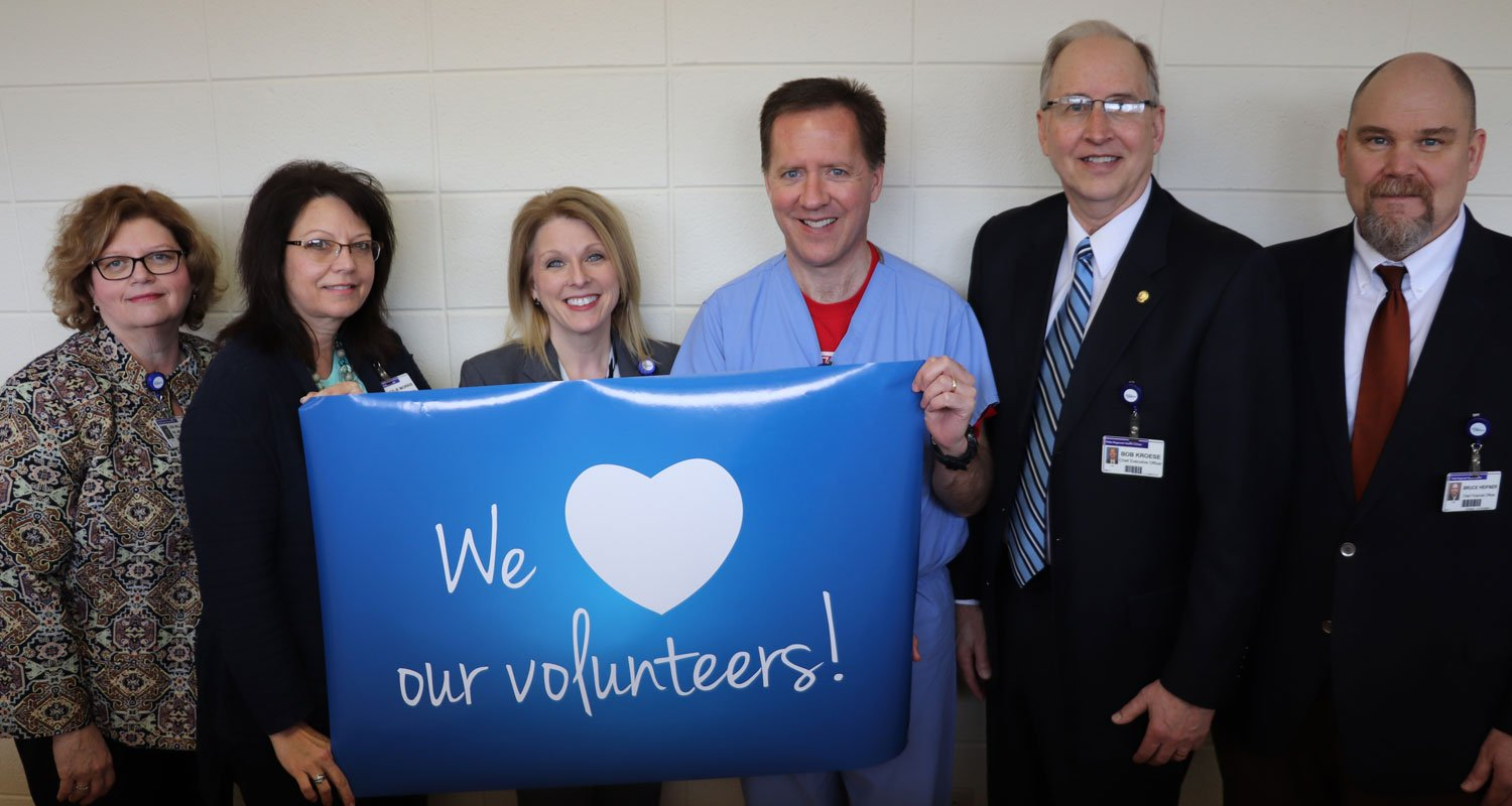 We heart our volunteers