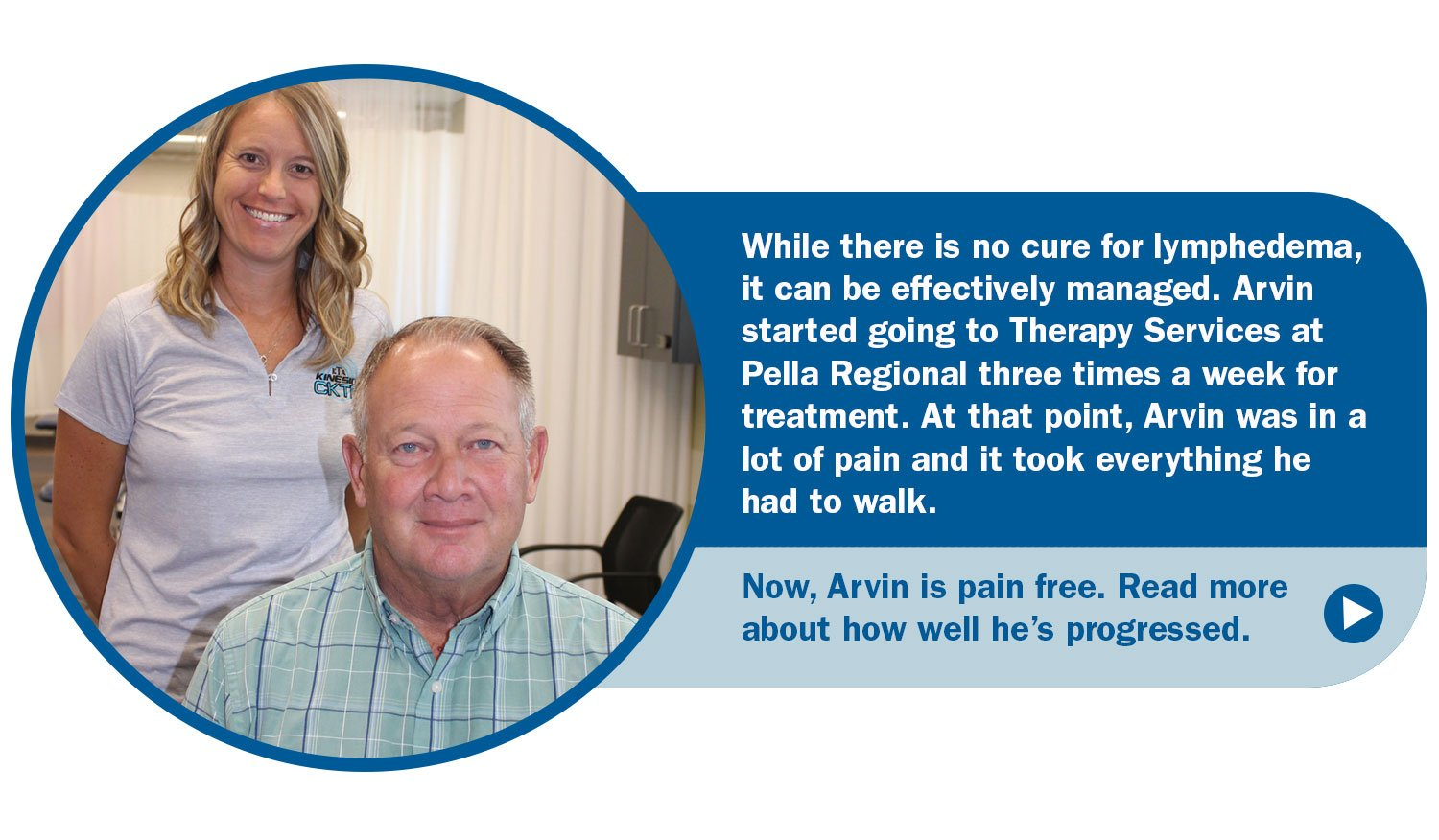 Read more about Arvin's Lymphedema Story