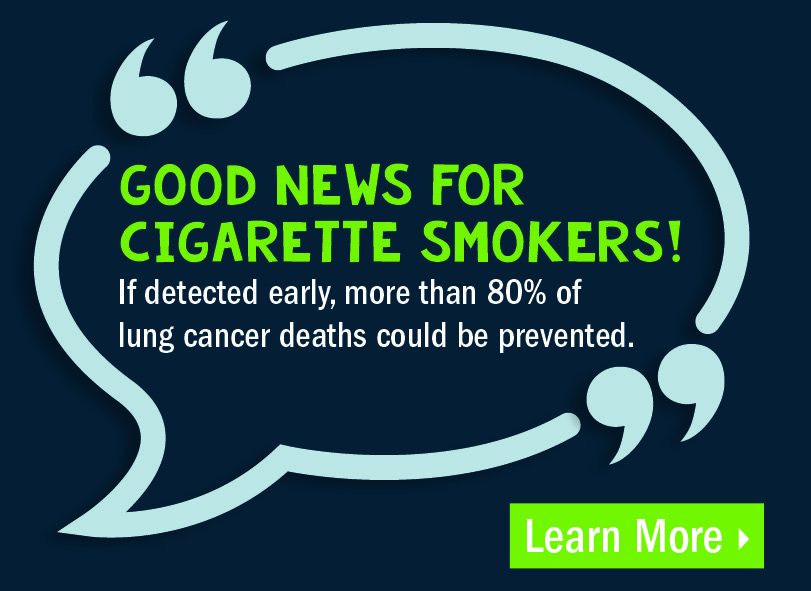 Get your free lung cancer screening today!
