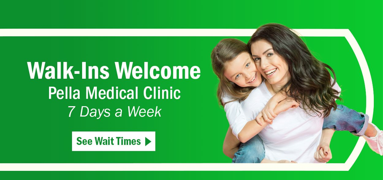 Walk-In Clinic now open at Pella Medical Clinic