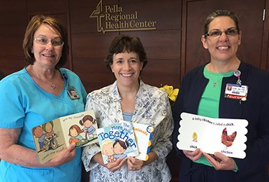First Books for Babies at Pella Regional