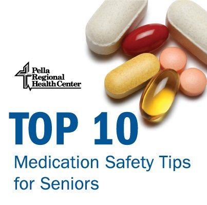 Top 10 Medication Safety Tips for Seniors -Healthy Helen