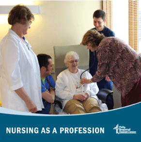 Nursing as a profession at Pella Regional Health Center