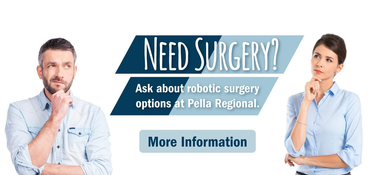 Find out more about robotic surgery at Pella Regional